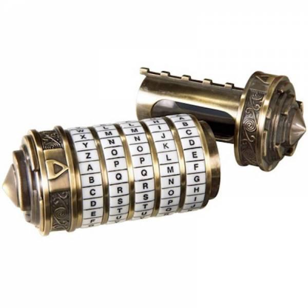 "Криптекс ""Код Да Винчи"" (5 колец латинские буквы)"