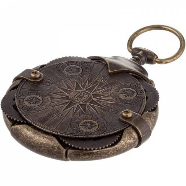 Compass криптекс флешка 16 Гб (4 кольца с компасом)