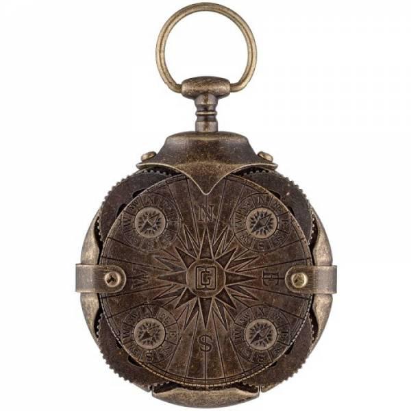 Compass криптекс флешка 32 Гб (4 кольца с компасом)