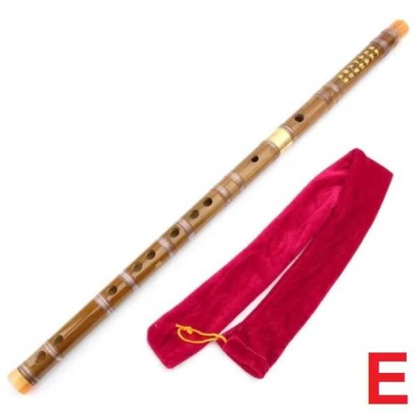Китайская разборная бамбуковая флейта Дизи Dizi строй  МИ (E)