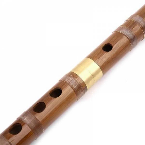 Китайская разборная бамбуковая флейта Дизи Dizi строй ФА (F)