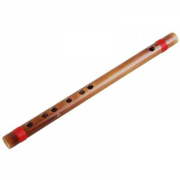 Китайская цельная бамбуковая флейта строй СОЛЬ (G)