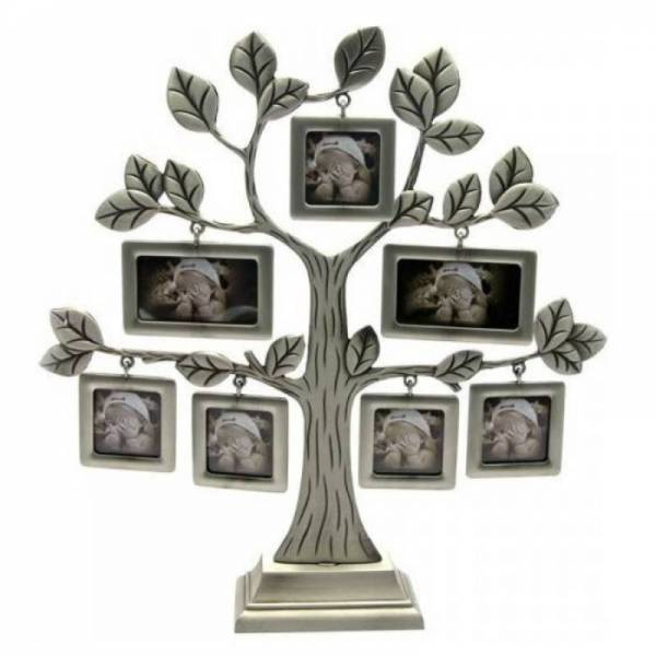 """Фоторамка """"Родовое дерево + окошки"""" на 7 фотографий"""
