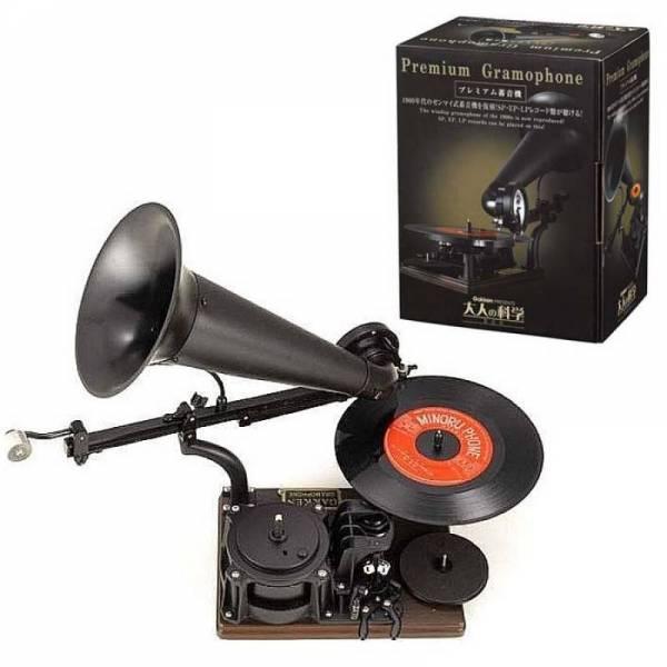 Заводной граммофон
