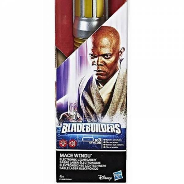 Cветовой меч Мейса Винду Mace Windu lightsaber electronic toy
