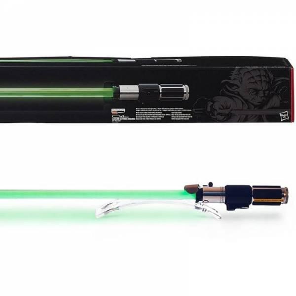 Коллекционный меч Мастера Йода Master Yoda lightsaber Force FX
