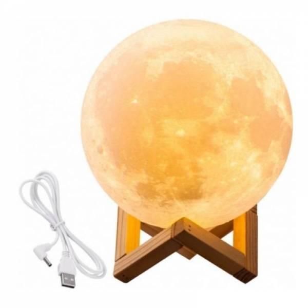 Луна лампа ночник Moon light lamp диаметр - 12 см