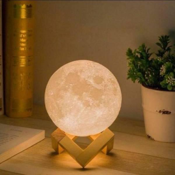 Луна лампа ночник Moon light lamp диаметр - 10 см