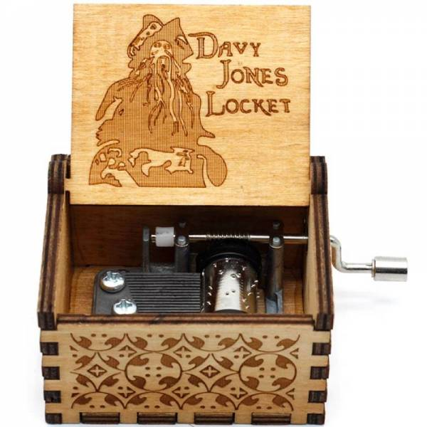 Музыкальная шкатулка Пираты Карибского моря Davy Jones