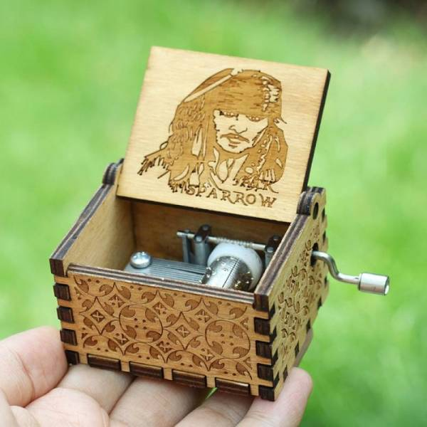 Музыкальная шкатулка Пираты Карибского моря