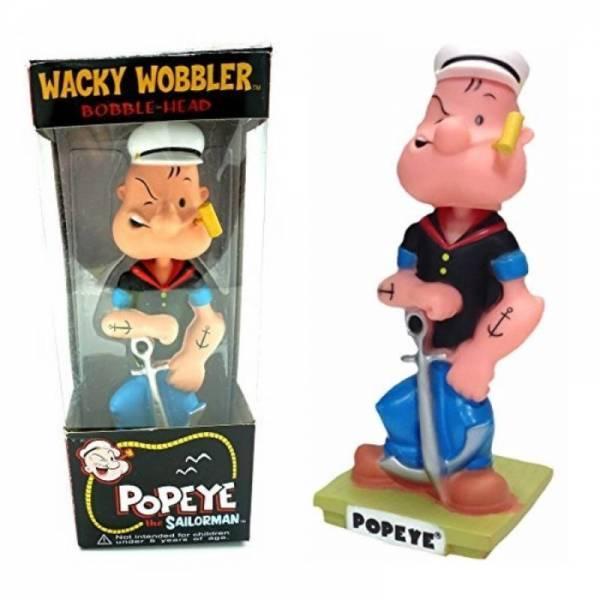 Башкотряс на торпеду в машину Popeye