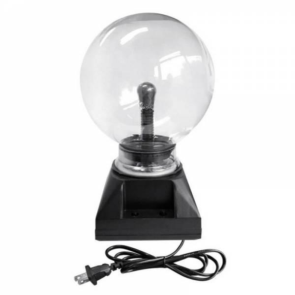 Тесла плазменный шар электрический с молниями 10 см