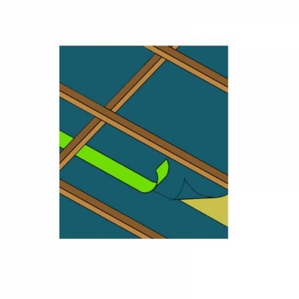 Универсальная односторонняя строительная армированная лента UNI