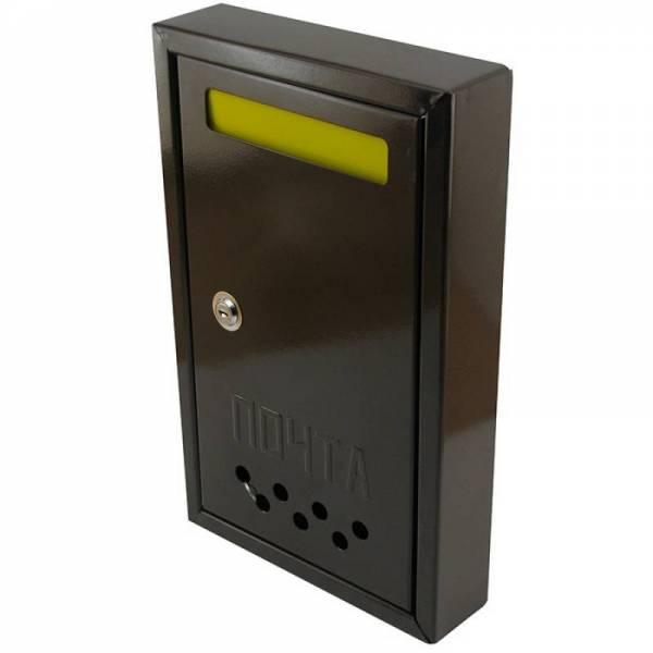 Почтовый ящик для частного дома со шторкой №2