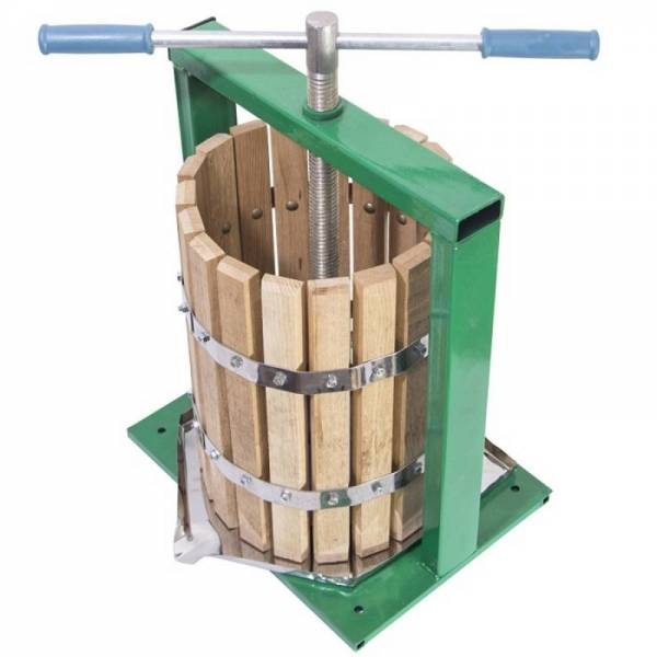 Деревянный дубовый пресс для сока, сокодавка «Винница», 20, 25 л