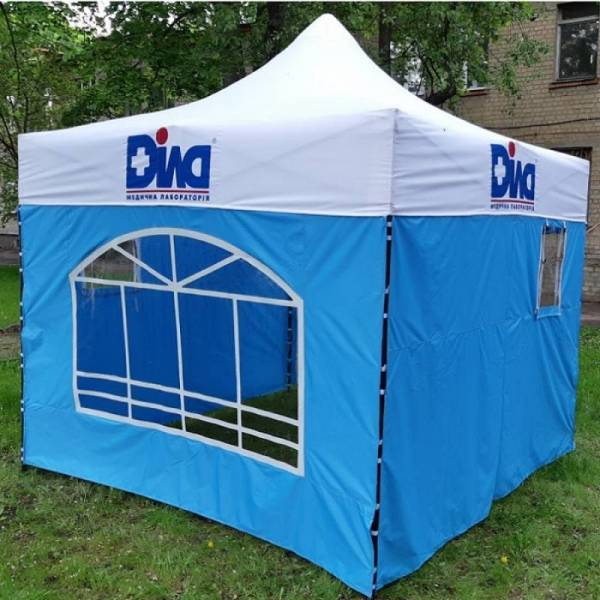 Под заказ мобильный раздвижной шатер гармошка с логотипами