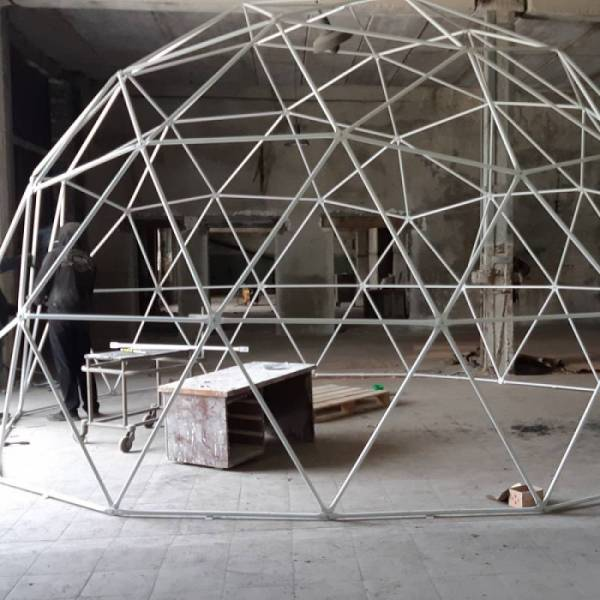 Шатер Сфера, геокупол (геодезический купол), диаметр 6 м