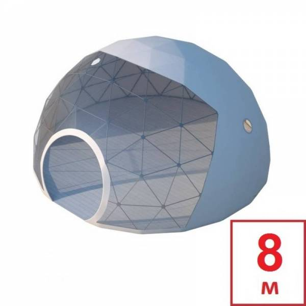 Шатер Сфера, геокупол (геодезический купол), диаметр 8 м