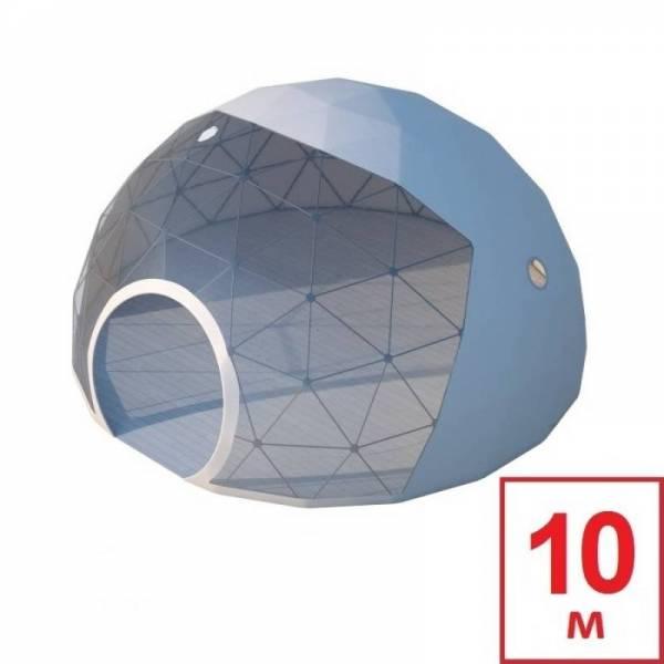 Шатер Сфера, геокупол (геодезический купол), диаметр 10 м