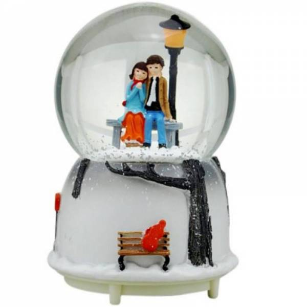 """Снежный шар """"Вдвоем"""""""