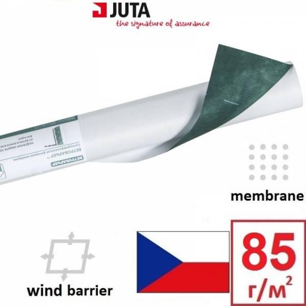 Ветроизоляция, мембрана, ветробарьер Juta плотностью 85г/м2, 1,5х50м