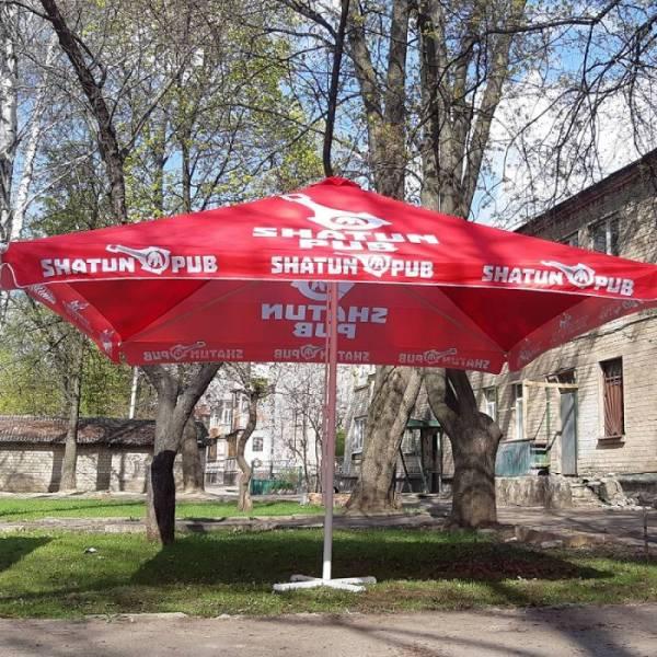 Под заказ уличный торговый зонт для кафе